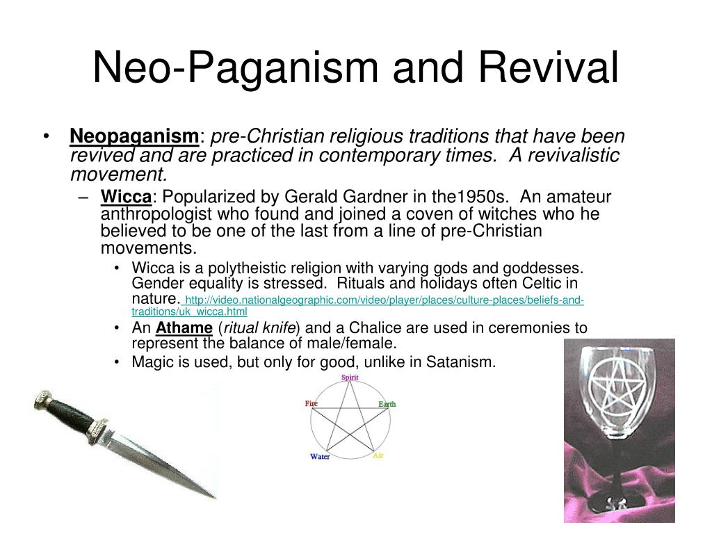 Neo-Paganism and Revival