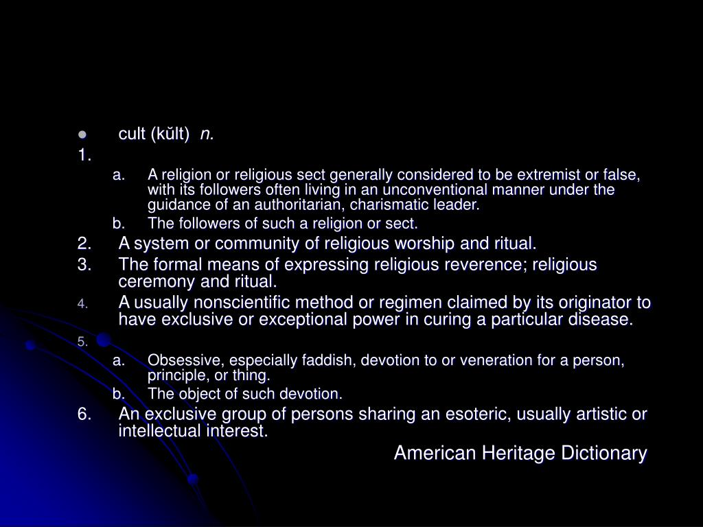 cult (kŭlt)