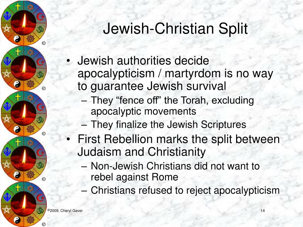 Jewish-Christian Split