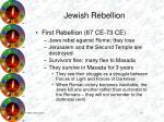 jewish rebellion