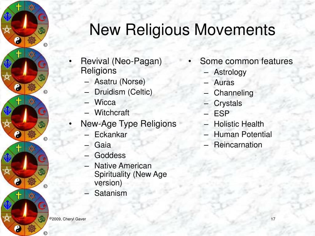 Revival (Neo-Pagan) Religions
