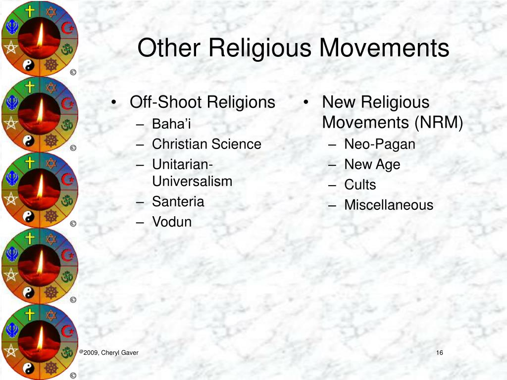 Off-Shoot Religions