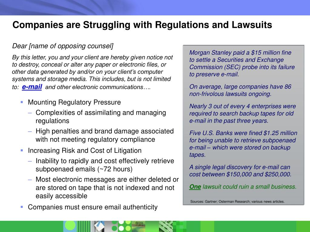 Companies are Struggling with Regulations and Lawsuits