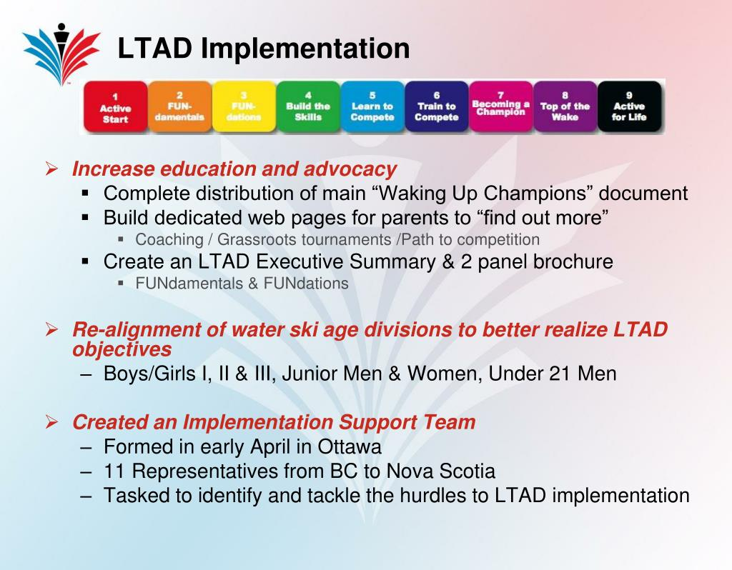 LTAD Implementation