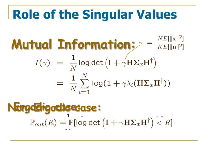 Role of the singular values l.jpg