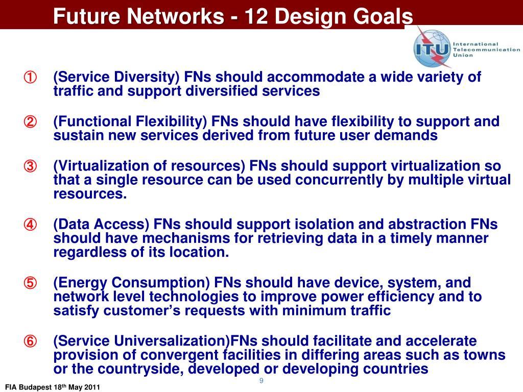 Future Networks - 12