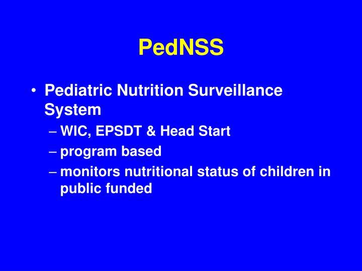 PedNSS