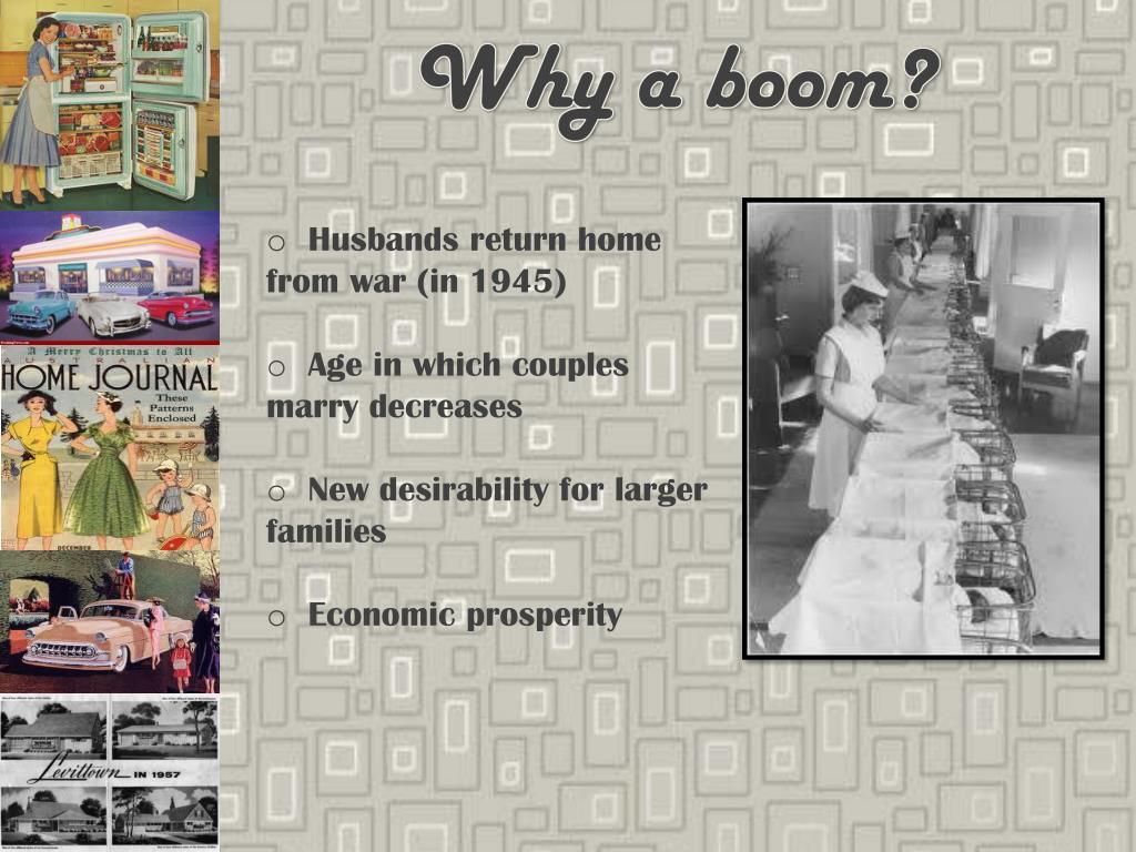 Why a boom?