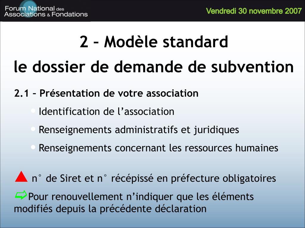 2 – Modèle standard