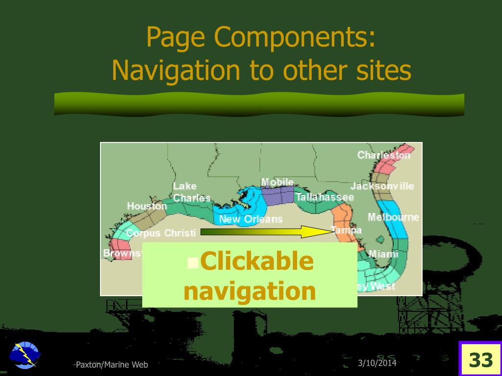 Page Components: