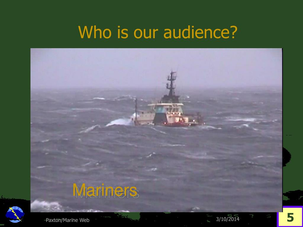 Who is our audience?