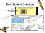 new student creations