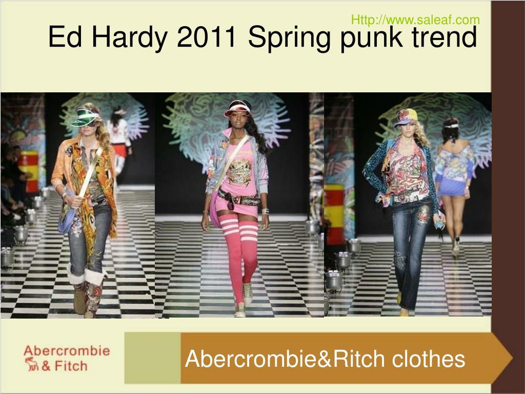 Ed Hardy 2011 Spring punk trend