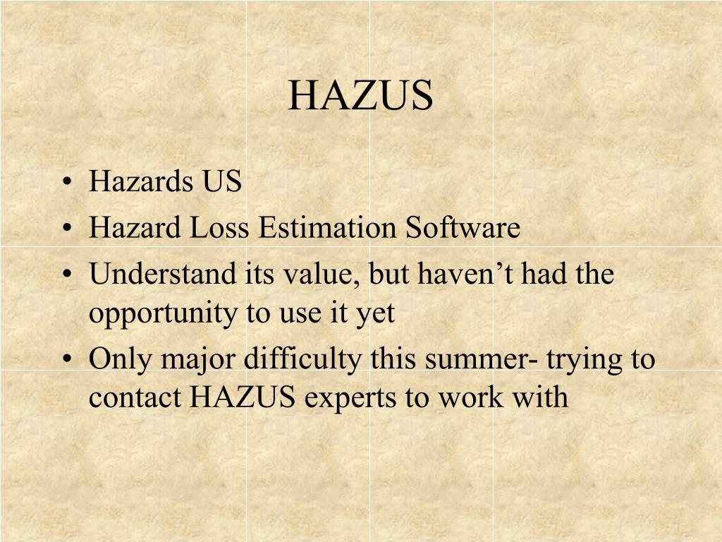 HAZUS