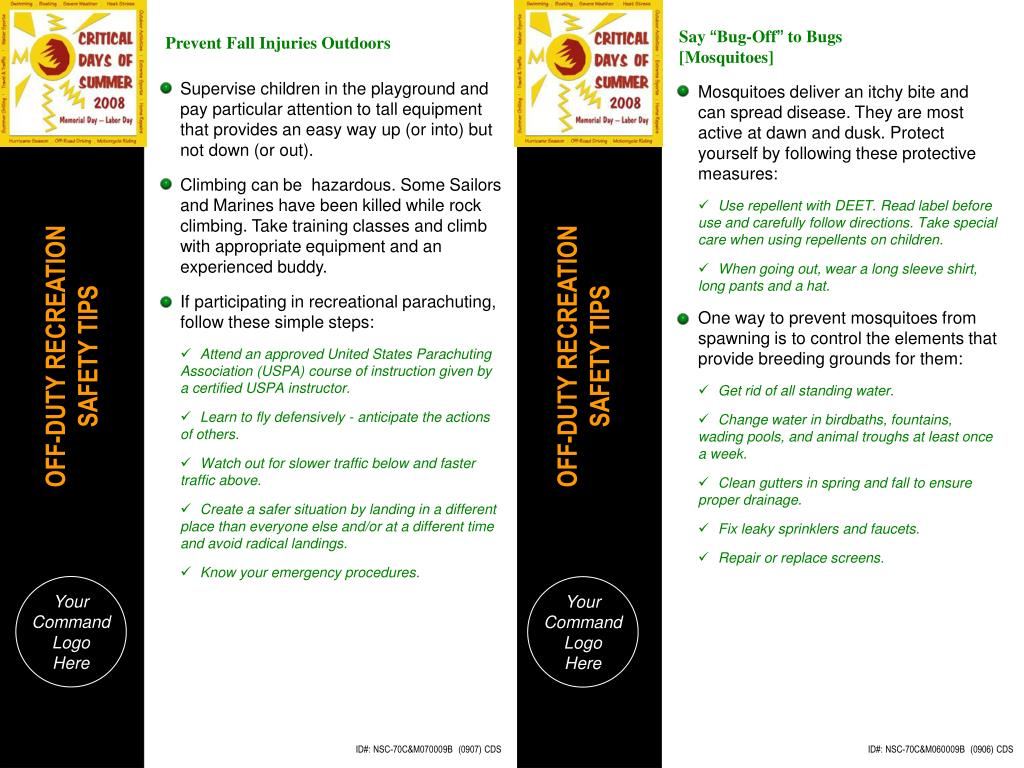 Prevent Fall Injuries Outdoors