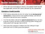 health benefits sch