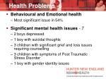 health problems 6