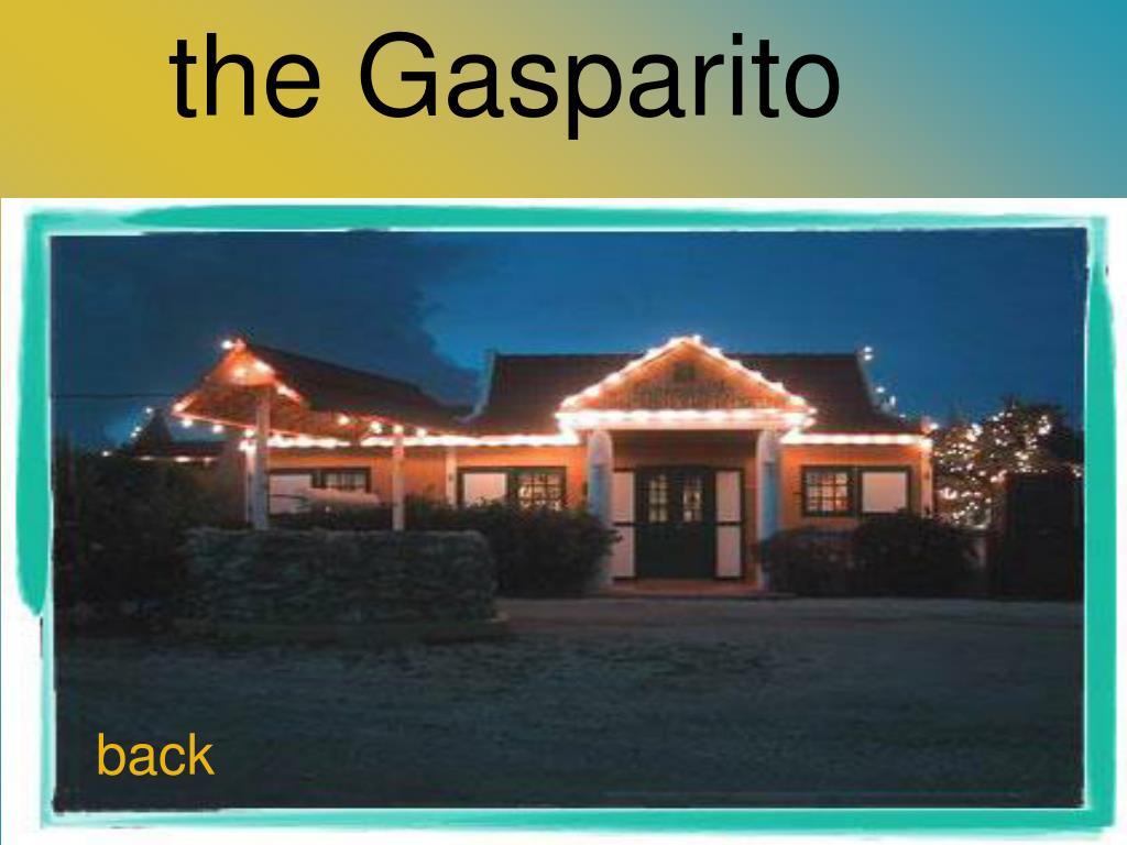 the Gasparito