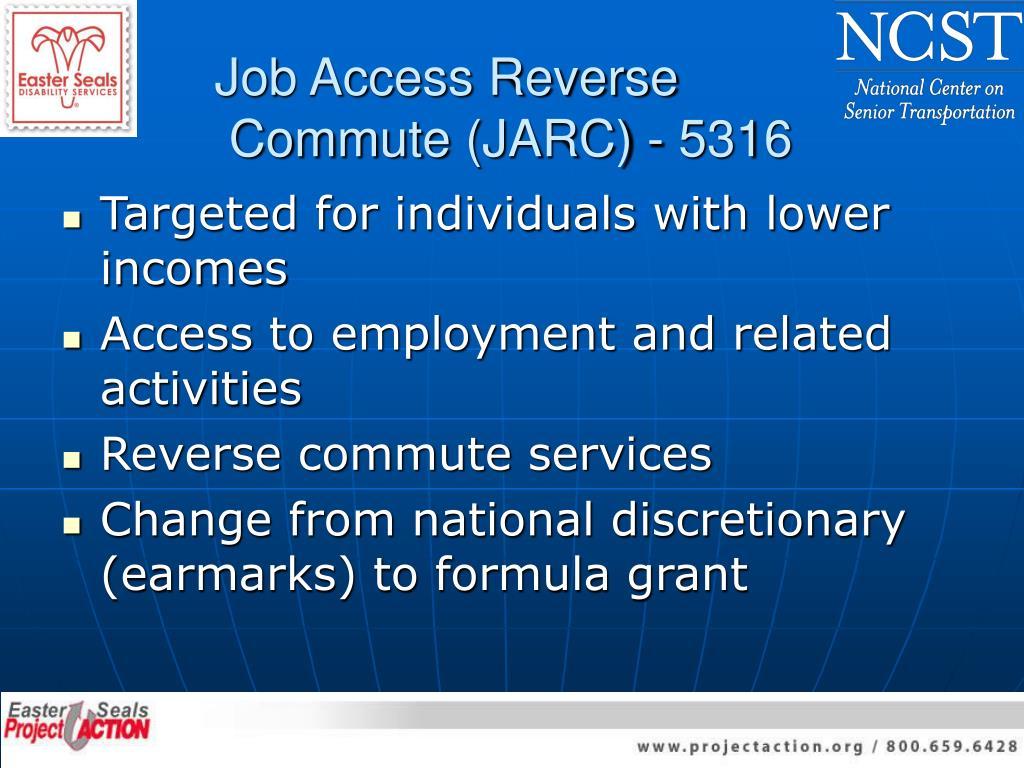 Job Access Reverse