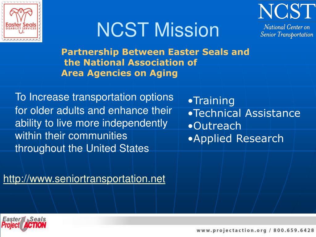 NCST Mission