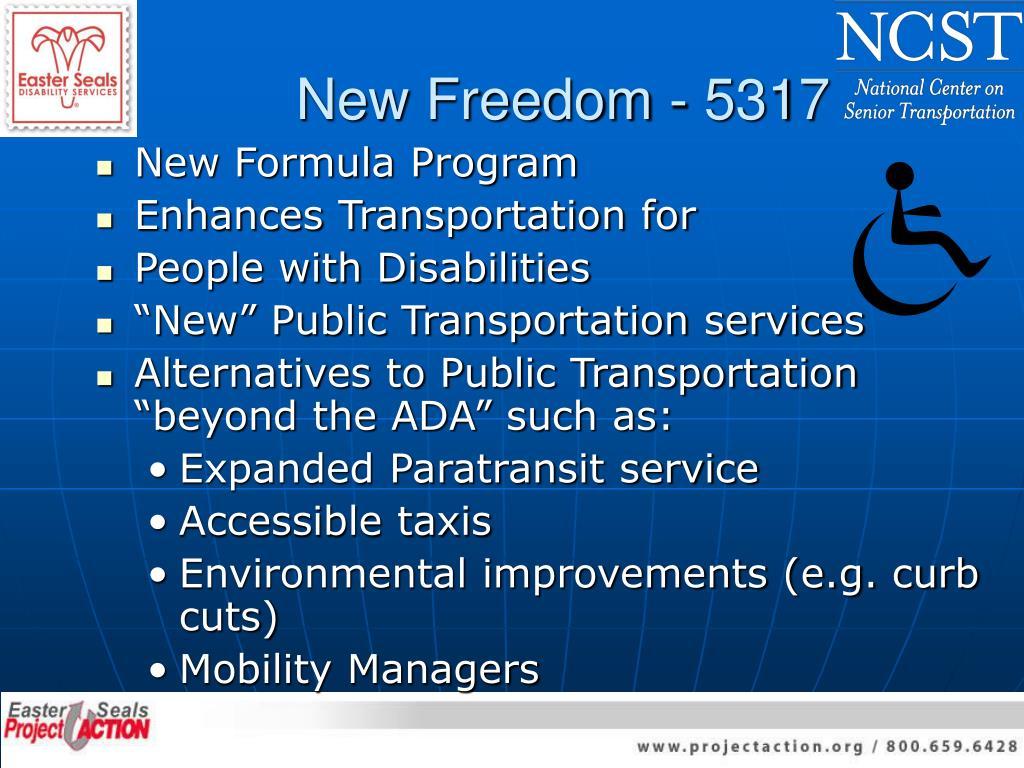 New Freedom - 5317