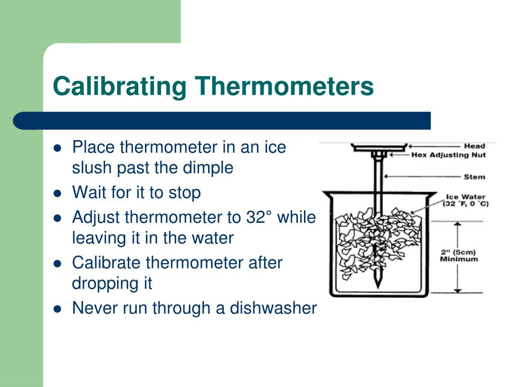 Calibrating Thermometers