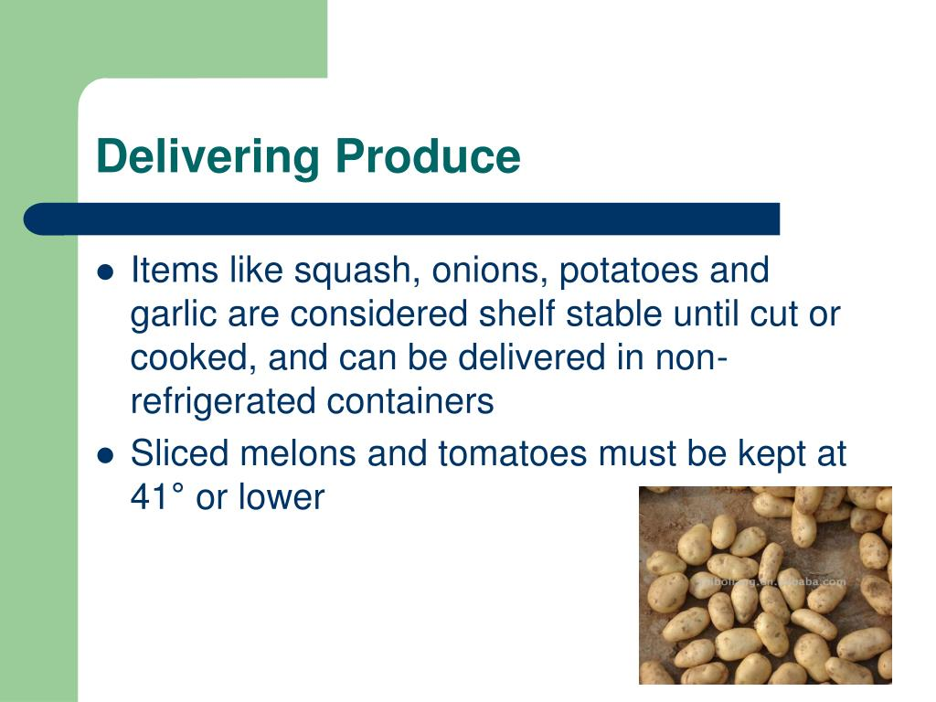 Delivering Produce