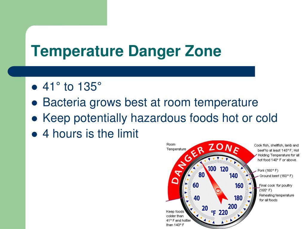 Temperature Danger Zone