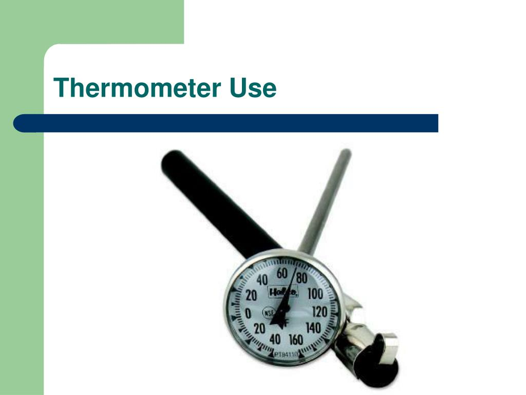 Thermometer Use