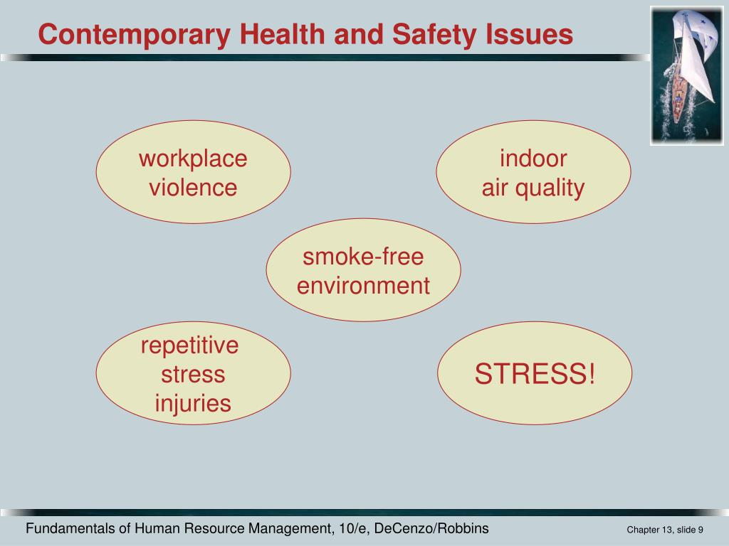 health and safety issues in an 7 common workplace safety hazards compounding these problems is a lack of maintenance and daily checks safety+health welcomes comments that promote respectful.