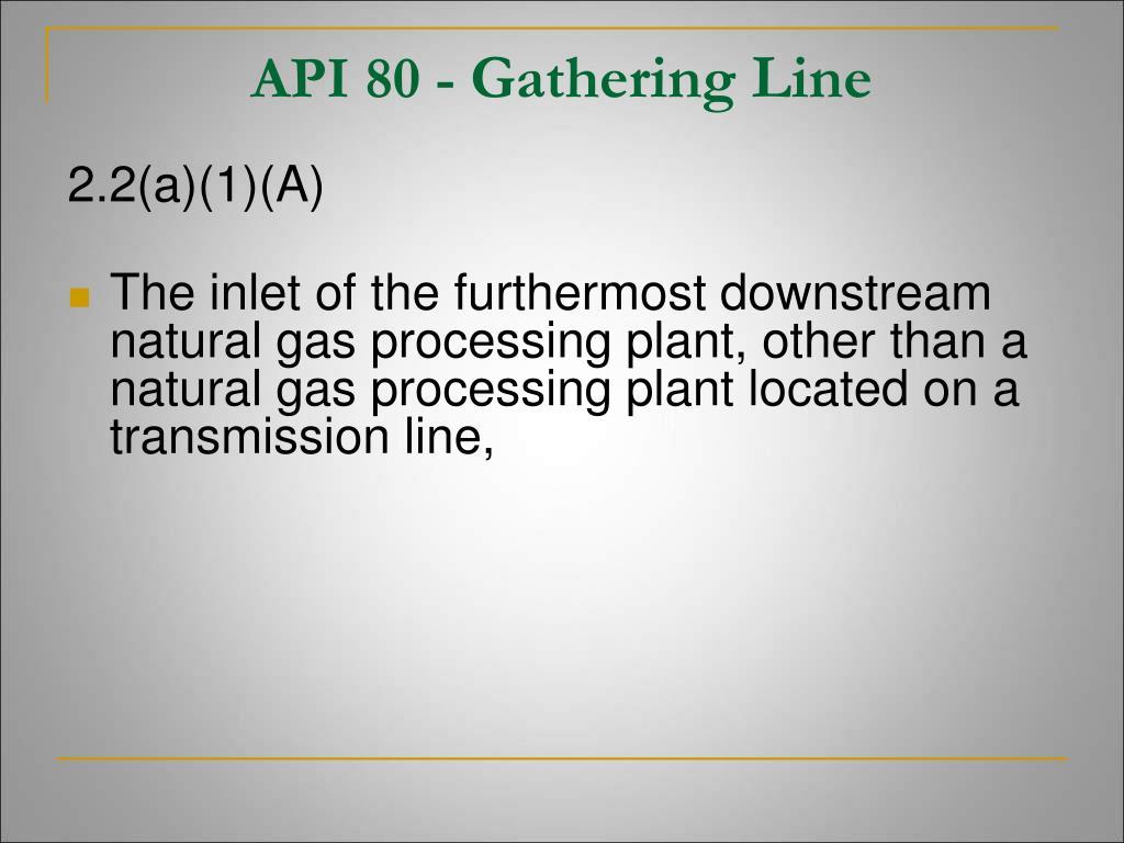 API 80 -