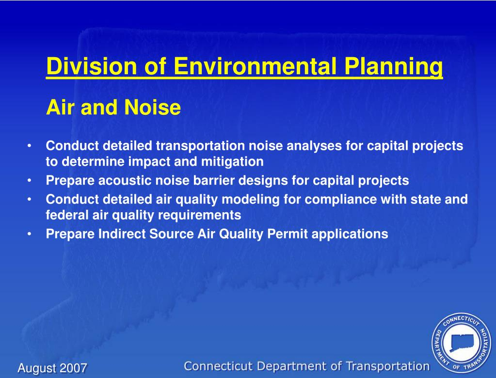 Division of Environmental Planning
