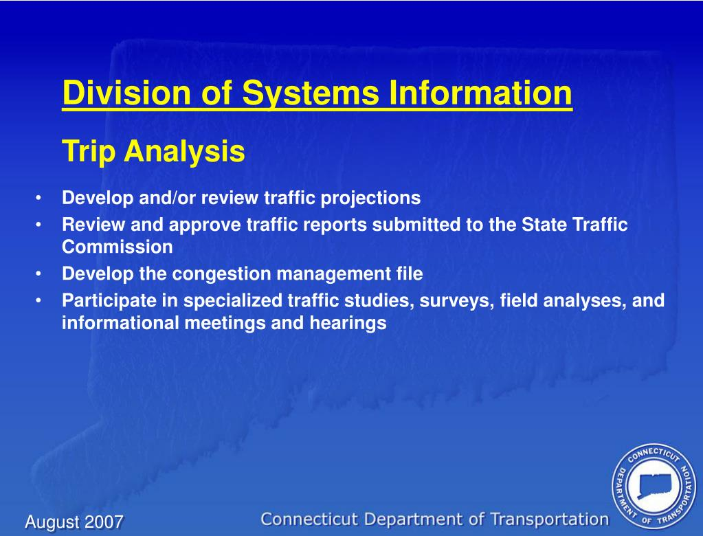 Division of Systems Information