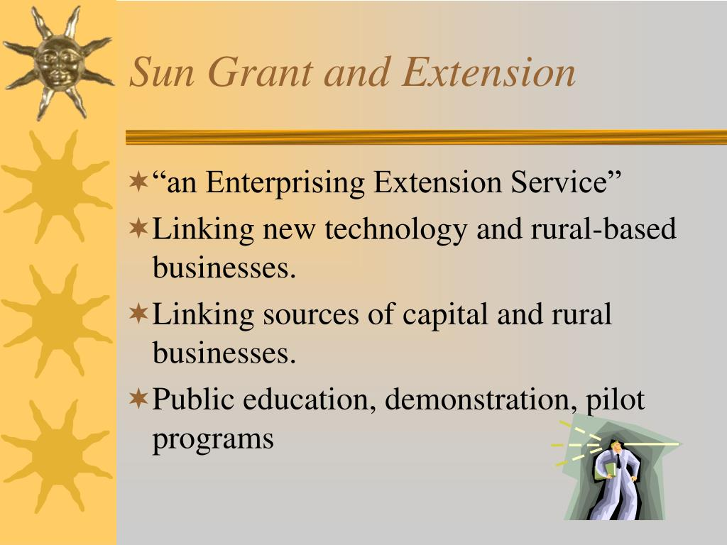 Sun Grant and Extension