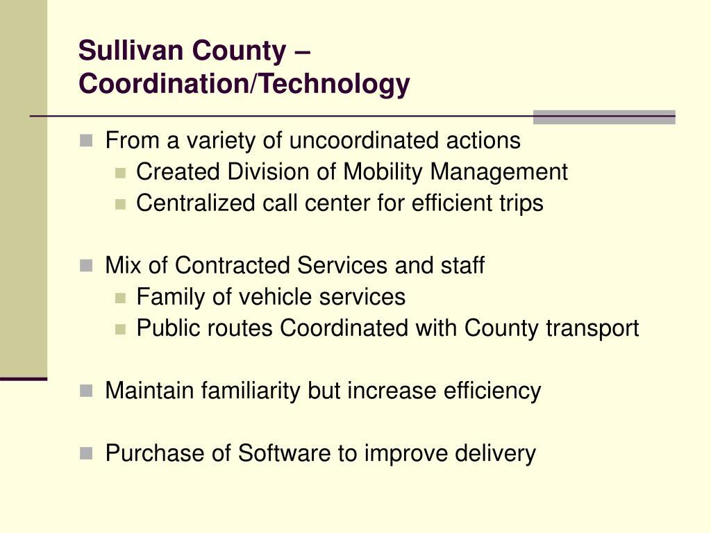 Sullivan County –