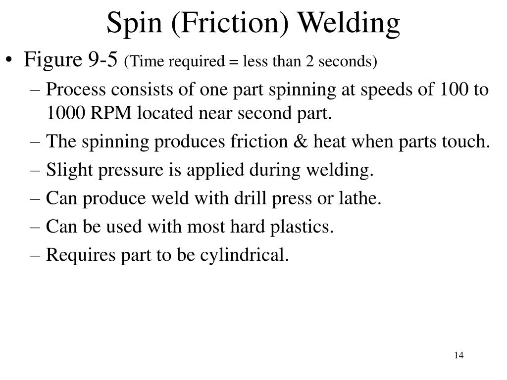 Spin (Friction) Welding