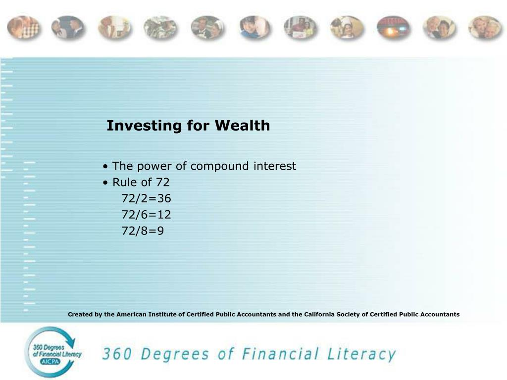 Investing for Wealth