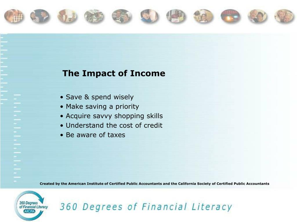The Impact of Income