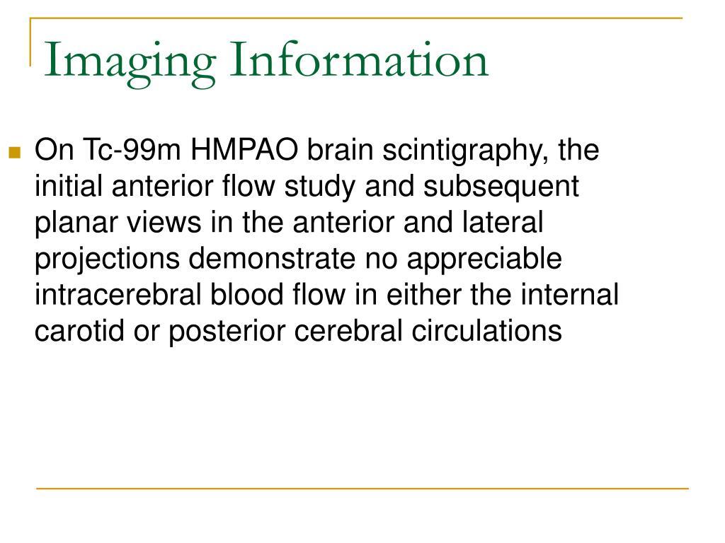 Imaging Information