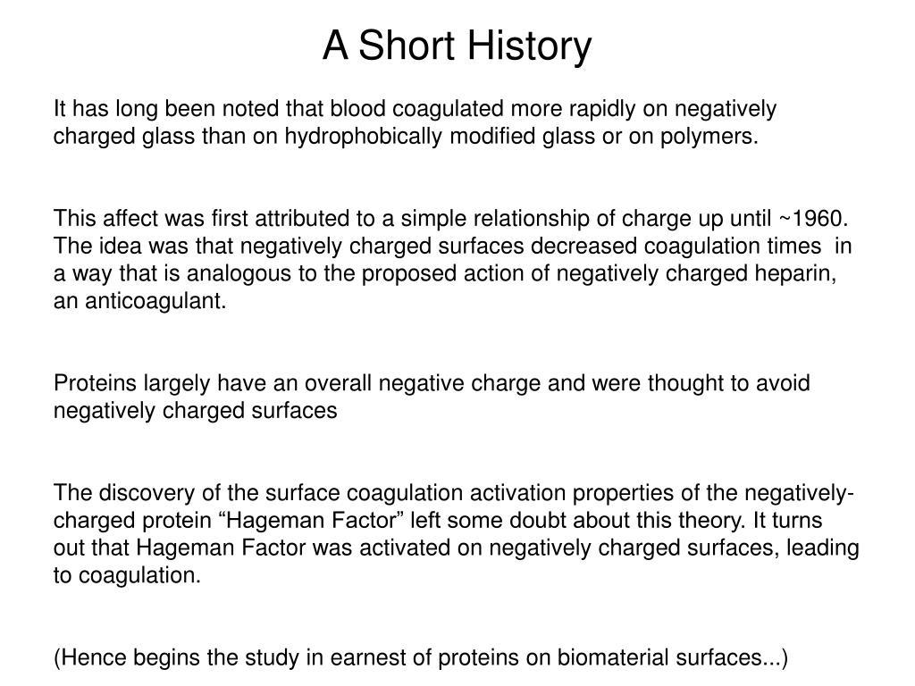 A Short History