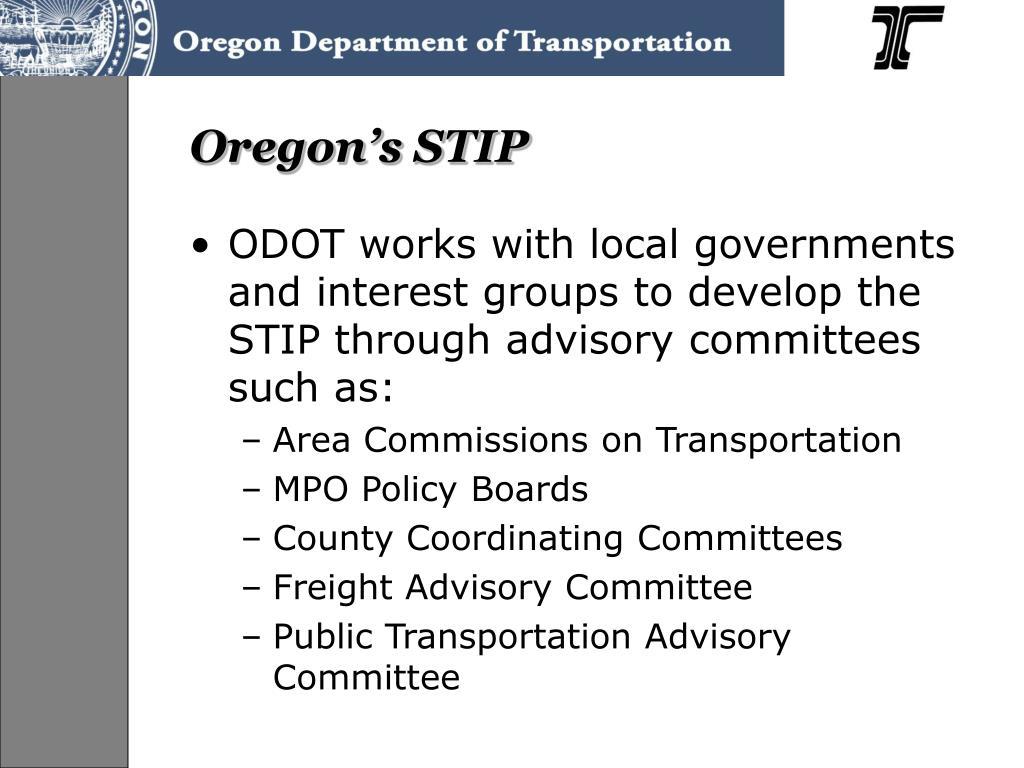 Oregon's STIP