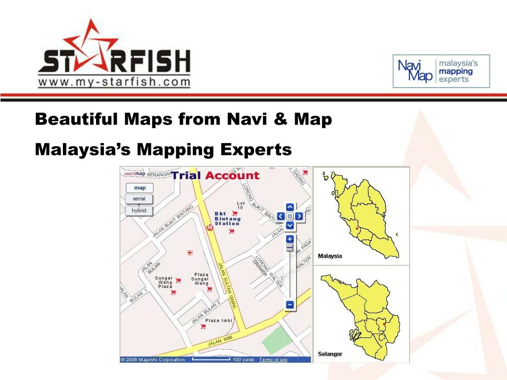 Beautiful Maps from Navi & Map