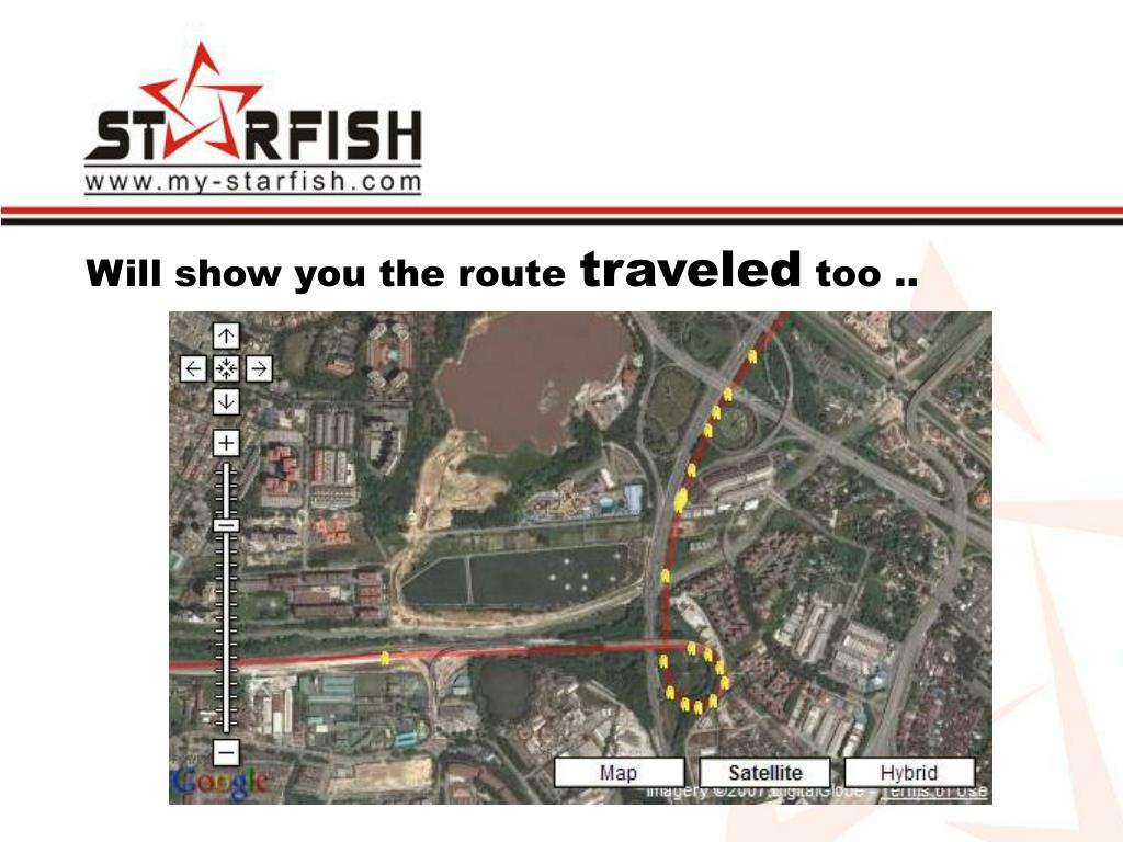 Will show you the route