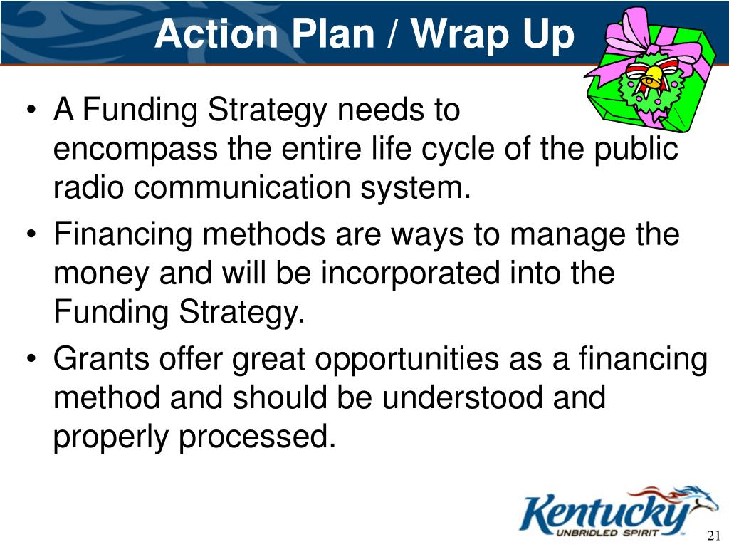 Action Plan / Wrap Up