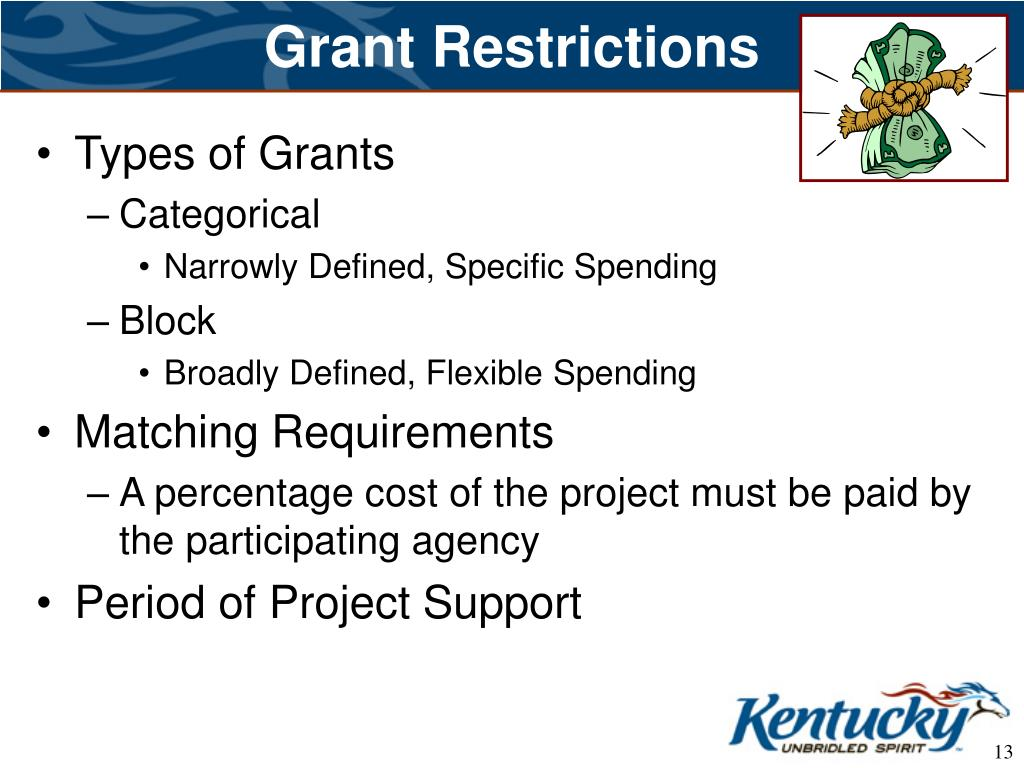 Grant Restrictions