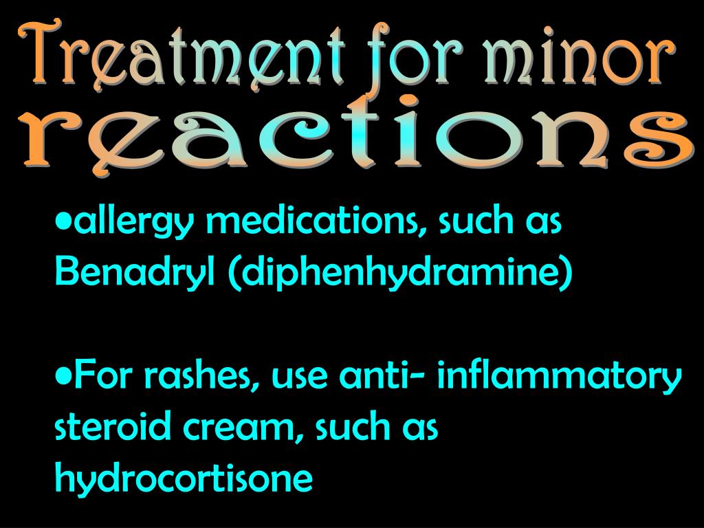 Treatment for minor
