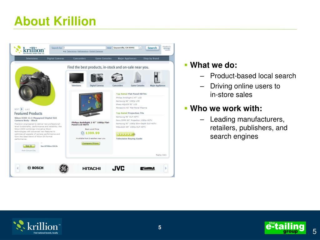 About Krillion