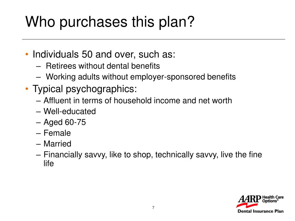 Who purchases this plan?