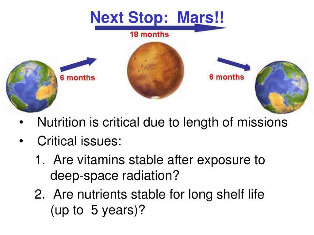 Next Stop:  Mars!!