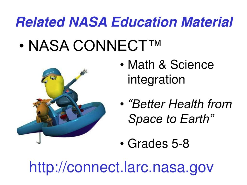 Related NASA Education Material